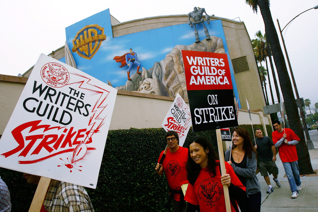 Memories of the 2007 Writers Guild Strike are in the air as negotiations between the WGA and the Alliance of Motion Picture and Television Producers resume.