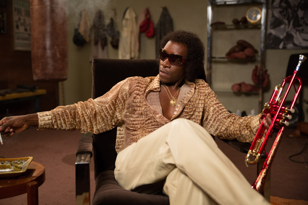 Don Cheadle plays Miles Davis in the movie <em>Miles Ahead. </em>Cheadle's portrayal is being hailed as capturing the