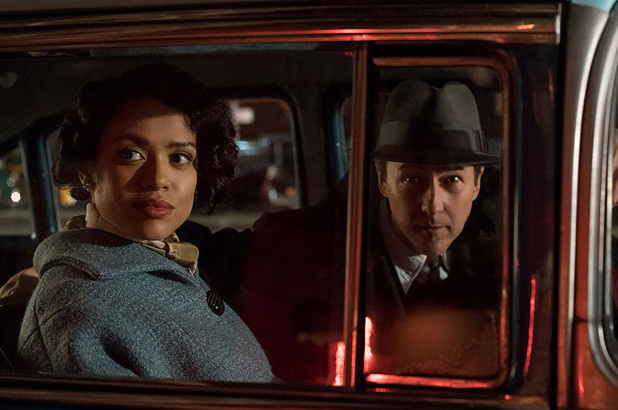 Gugu Mbatha-Raw stars with Edward Norton in