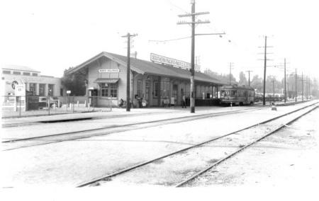 Lankershim Depot in 1950