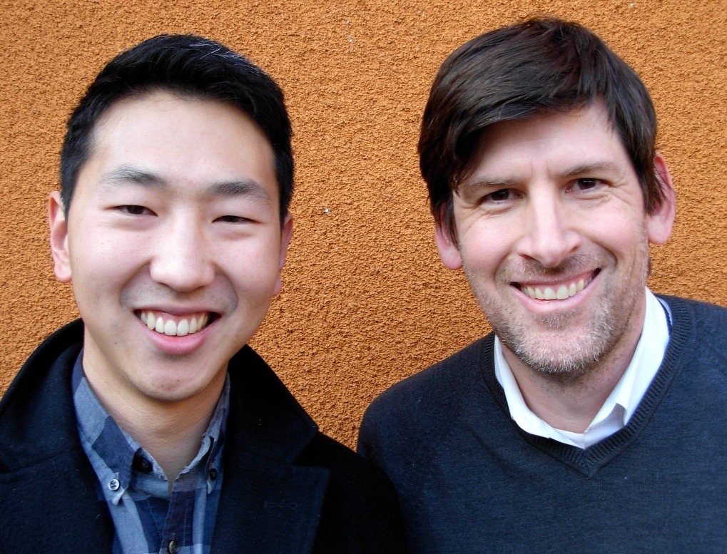 Filmmaker Andrew Ahn and Off-Ramp host John Rabe.