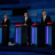 GOP Presidential Candidates Debate In Myrtle Beach
