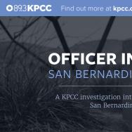 Officer Involved: San Bernardino - Share Tile
