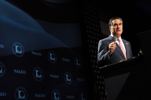 Mitt Romney Addresses NALEO 29th Annual Conference In Florida