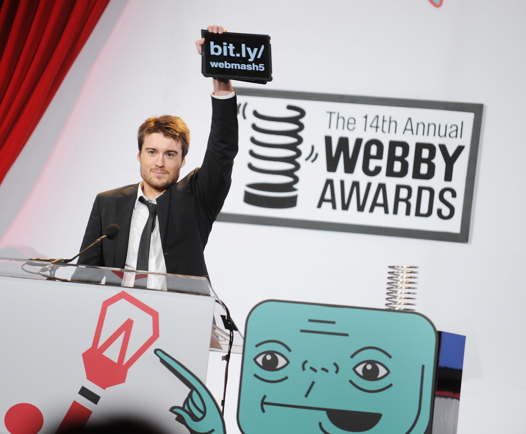 CEO/founder of Mashable Pete Cashmore attends the 14th Annual Webby Awards at Cipriani, Wall Street on June 14, 2010 in New York City.