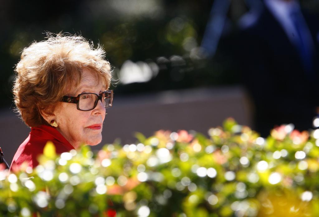 Nancy Reagan Funeral Arrangements Announced