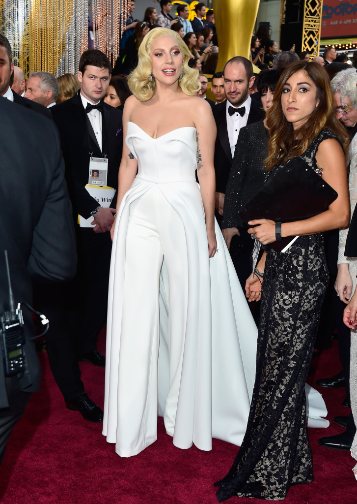 Singer Lady Gaga attends the 88th Annual Academy Awards at Hollywood & Highland Center on February 28, 2016.
