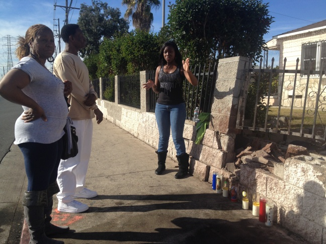 Friends of the driver killed in the crash left candles at the crash site, including a few strangers who felt compelled to pay tribute to the mother of three.