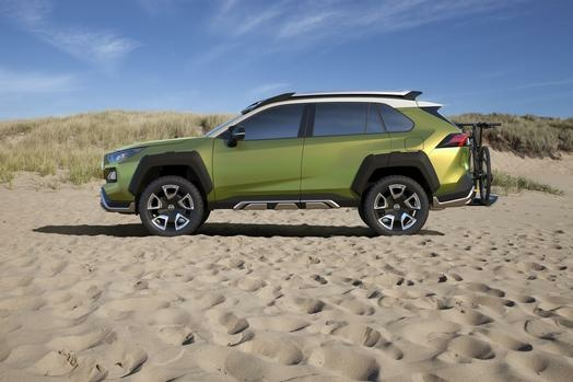 Toyota's FT-AC concept is a crossover targeting millennials with active lifestyles.