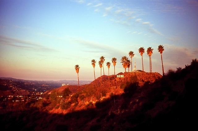 The Hollywood sign. Taken on a Minolta SRT -101 35mm.