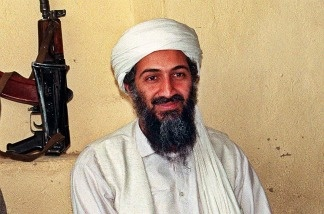 An undated file picture of Saudi dissident Osama Bin Laden, in an undisclosed place inside Afghanistan.