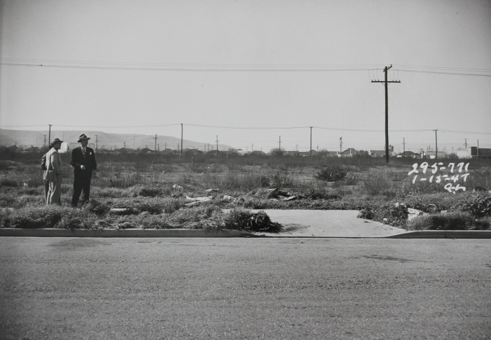LAPD Crime scene photos