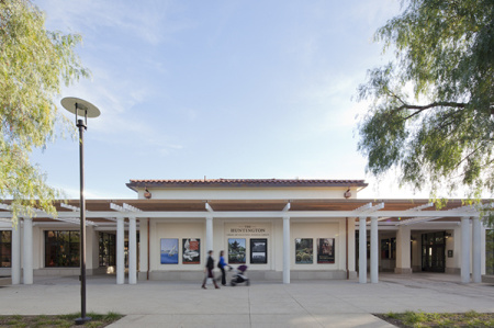 New entrance at The Huntington Library, Art Collections, and Botanical Gardens.