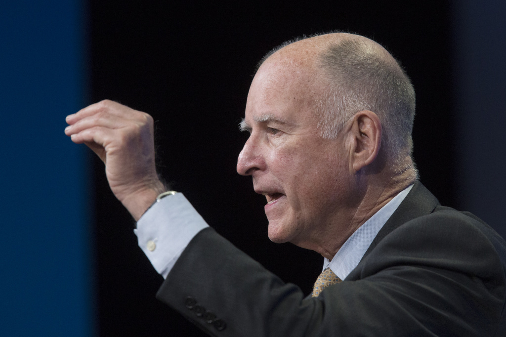 Governor Jerry Brown delivered his State of the State address Thursday morning.