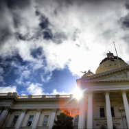 California State Capitol Building in Sacramento.