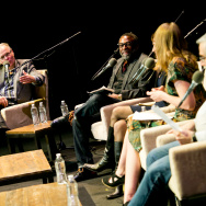 KPCC's FilmWeek critics and host Larry Mantle plus an audience of 1,000 gathered at the historic Theatre at Ace Hotel in Downtown Los Angeles for FilmWeek's 2017 Oscar preview.