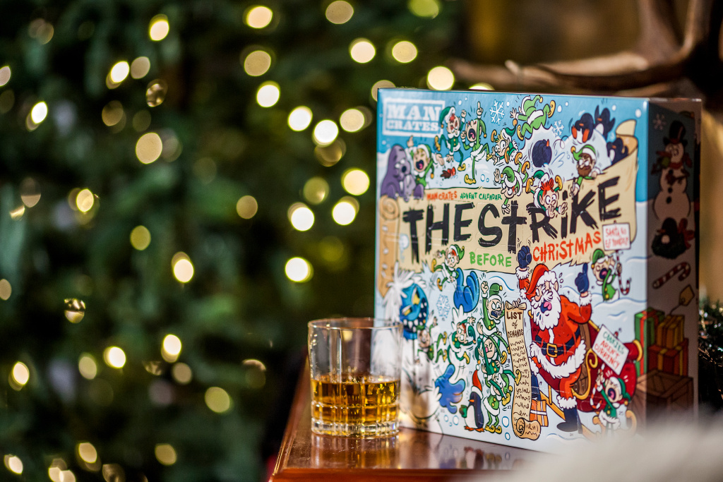 There's a new wave of advent calendars for adults, offering a variety of foods and beverages, including Pringles, beef jerky,  vodka and gin.