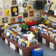 lego record store vinyl