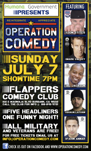 Operation Comedy- Flappers Comedy Club