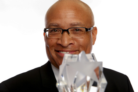 TV personality Larry Wilmore poses for a portrait at the Broadcast Television Journalists Association's Third Annual Critics' Choice Television Awards on June 10, 2013 in Los Angeles.