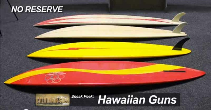 One of the offerings at the 2013 Surfing Heritage Vintage Surf Auction.