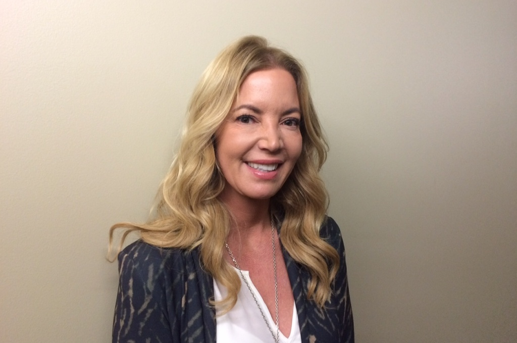 Lakers President Jeanie Buss stops by KPCC to speak with Take Two co-host A. Martinez about the future of the franchise.