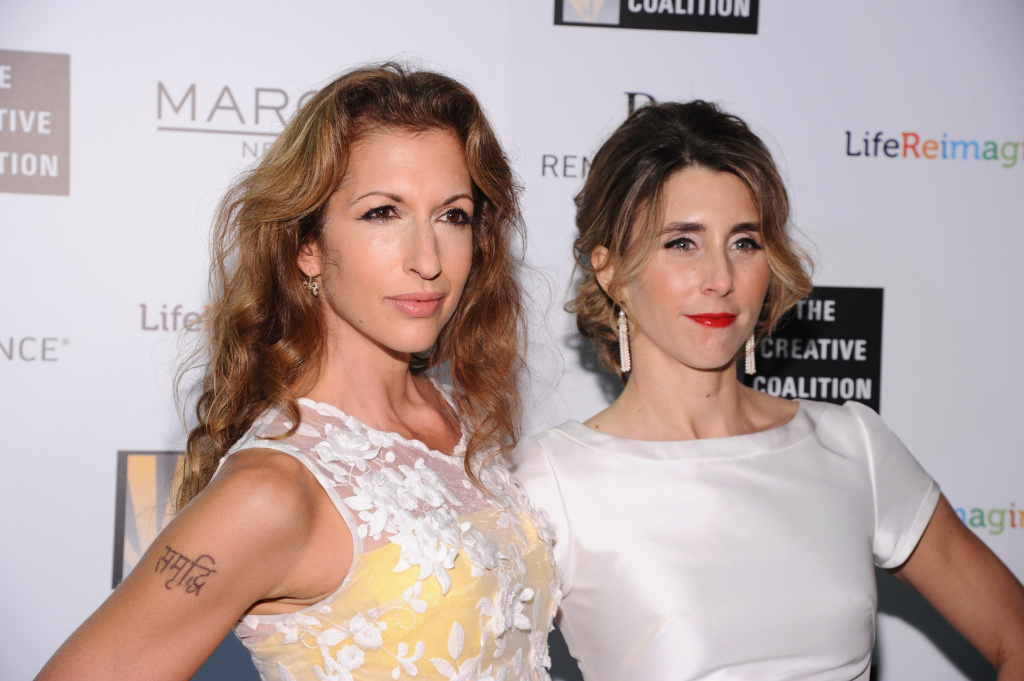 Actresses Alysia Reiner (left) and Sarah Megan Thomas created Broad Street Pictures to increase the number of roles for women in Hollywood. Their first movie,