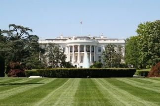 White House, South Lawn.