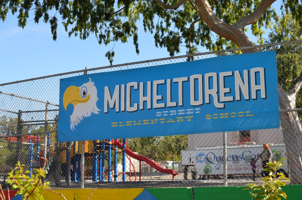 Micheltorena Elementary School, home of the eagles, and founded in 1905.
