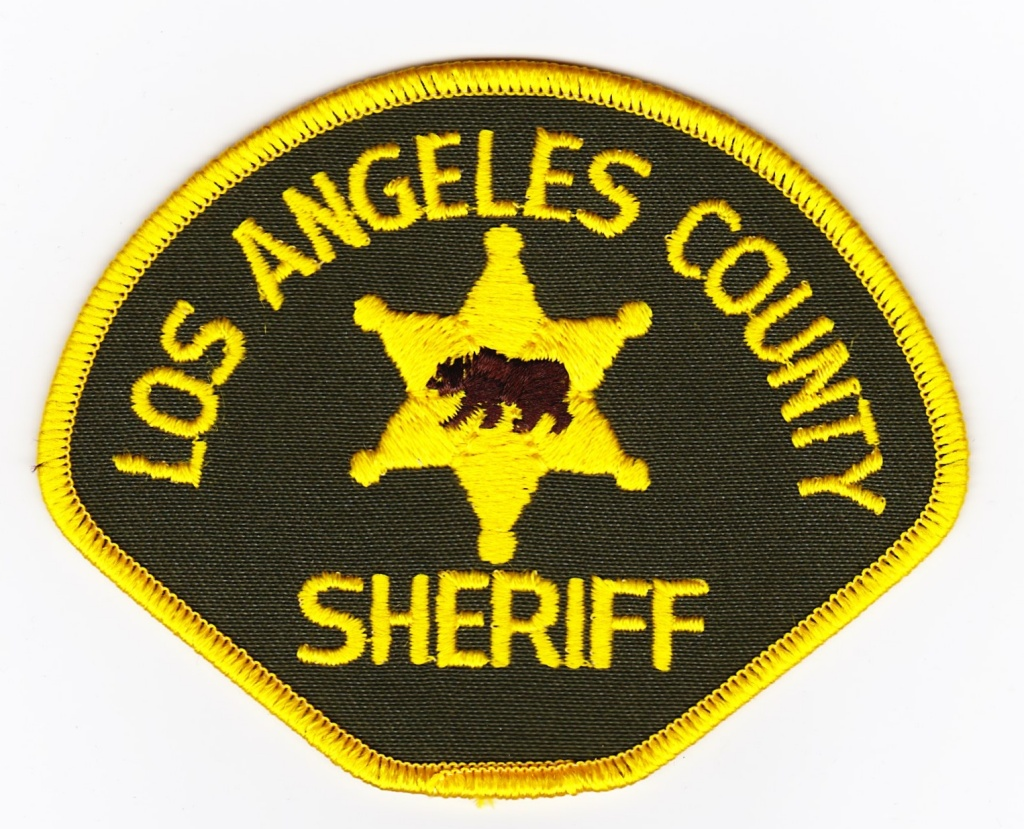 Los Angeles County Sheriff's patch.