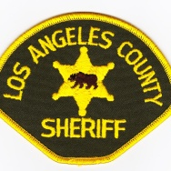los angeles county sheriff patch logo badge
