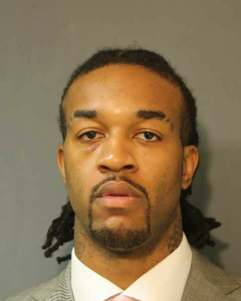 Jordan Hill booking photo