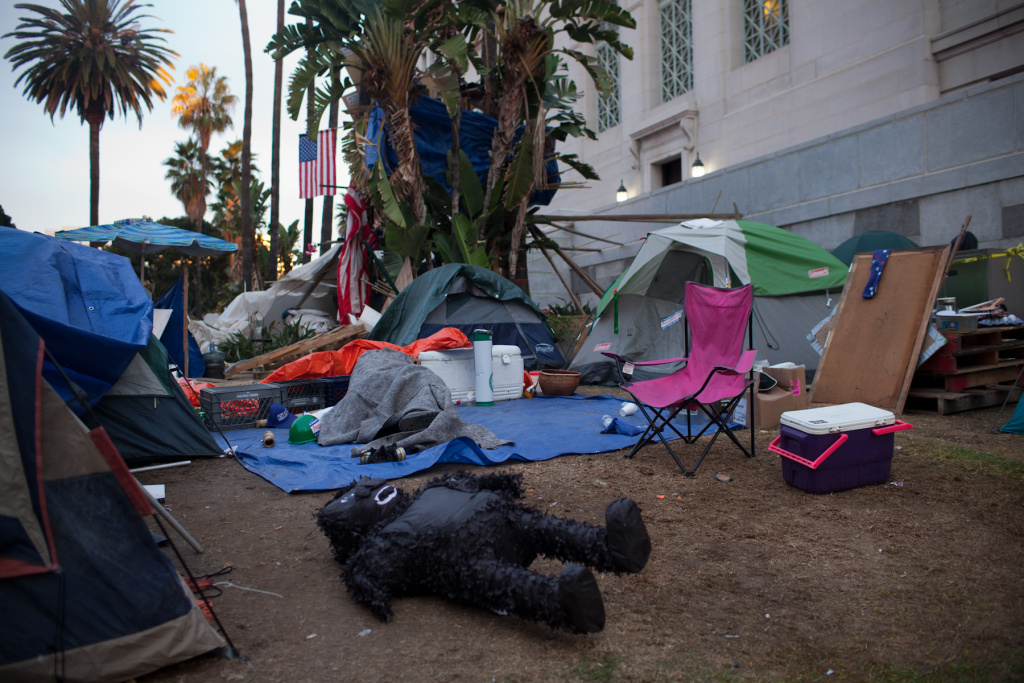 The Los Angeles City Council's decision to allow Occupy LA to remain on the lawn of City Hall ultimately cost $4.7 million.