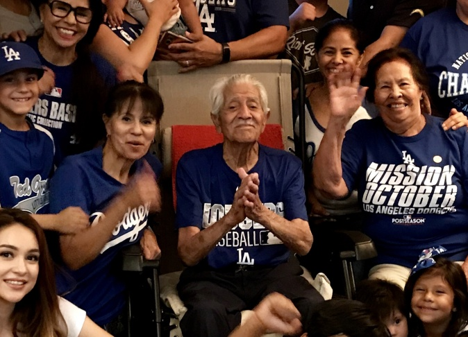 Audio In this family of superfans 5 generations watch the Dodgers