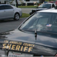 LA County Sheriff Patrol Vehicle