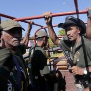 MEXICO-VIOLENCE-COMMUNITY-VIGILANTE-ANNIVERSARY
