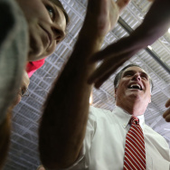Romney Campaigns Throughout Virginia