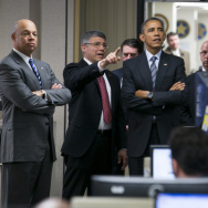 President Obama Discusses FY2016 Budget At Department Of Homeland Security