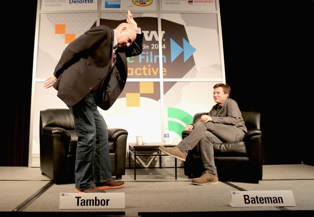 Jeffrey Tambor and Jason Bateman at SxSW 2014.