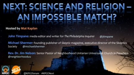 NEXT:Science and Religion - An Impossible Match?