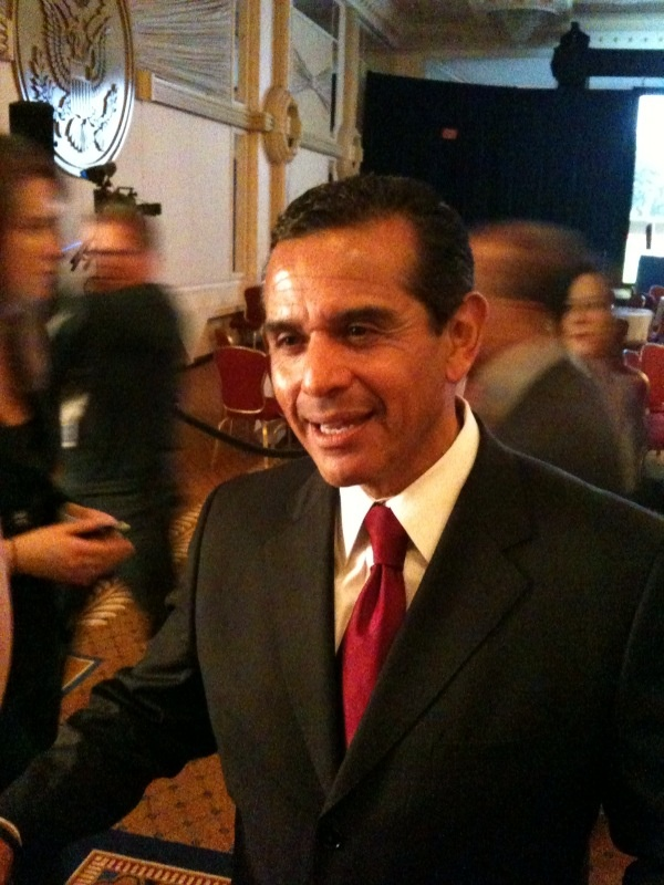 Los Angeles Mayor Antonio Villaraigosa at US Conference of Mayors meeting in Washington, DC.