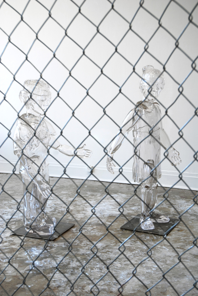 Glass children from the Broken Dreams installation