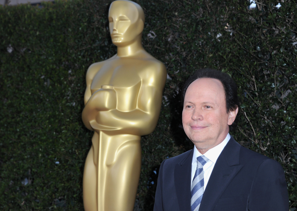 Actor Billy Crystal arrives to The Academy of Motion Picture Arts and Sciences' tribute to Sophia Loren on May 4, 2011 in Beverly Hills, California.