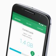 Screencap of a Nexus 6 using Google Fi.