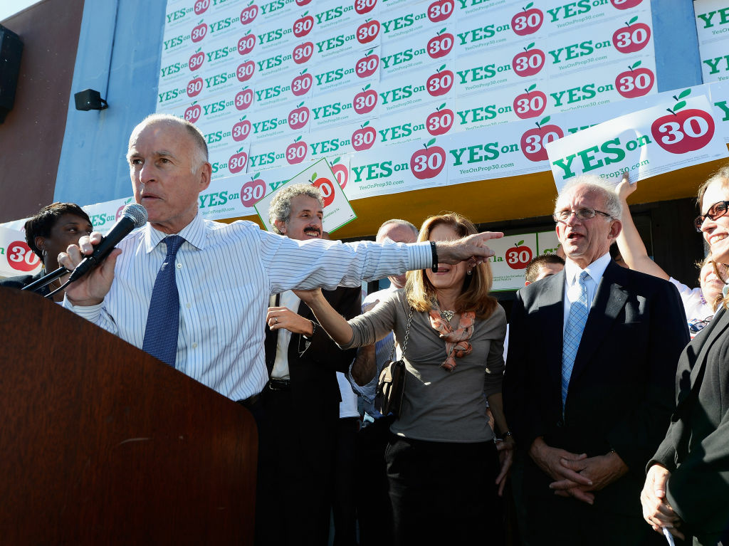 Gov. Jerry Brown wants to dramatically change how state government funds local public schools.