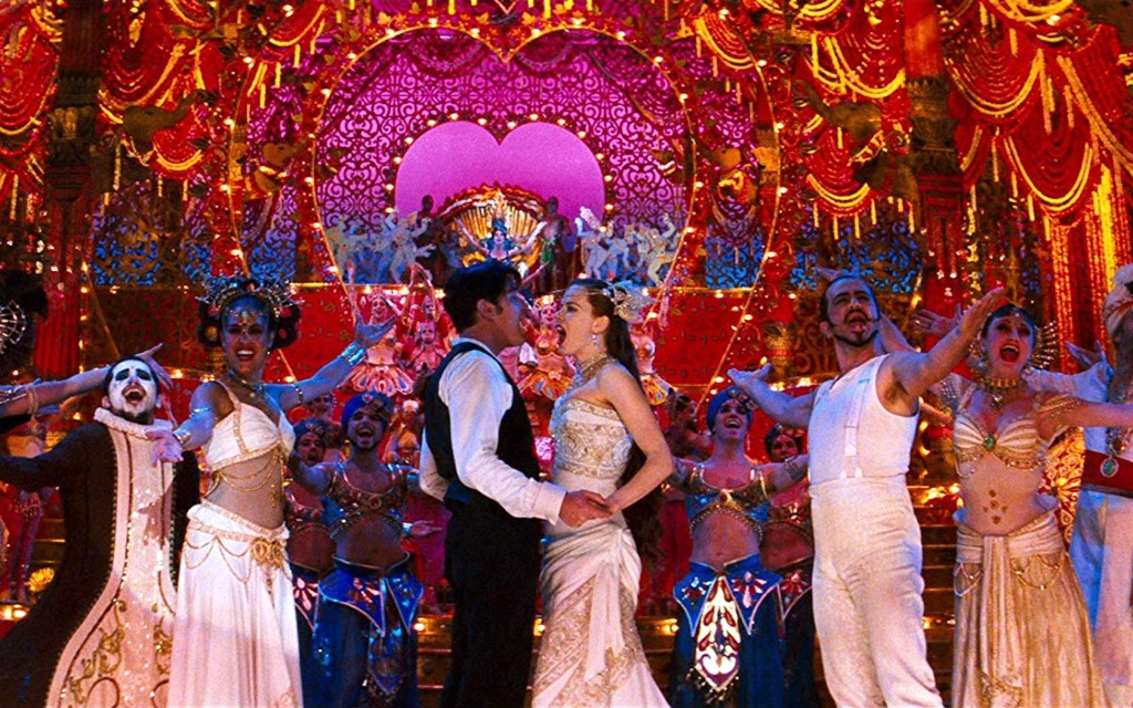 """A scene from the Broadway production of """"Moulin Rouge! The Musical."""""""