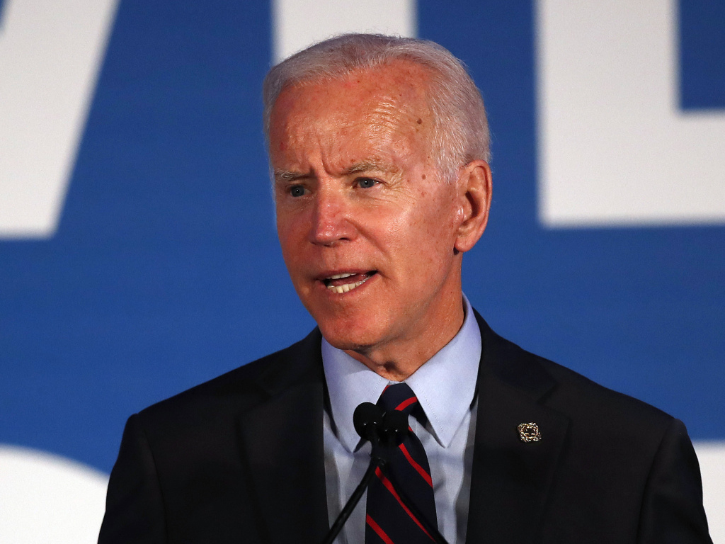 Democratic presidential candidate former Vice President Joe Biden told an audience in Atlanta Thursday that he no longer supports the Hyde Amendment, which bans most federal funding from paying for abortions.
