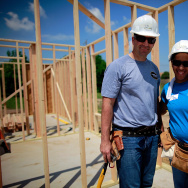 Marcos Ambrose Visits Habitat For Humanity Build