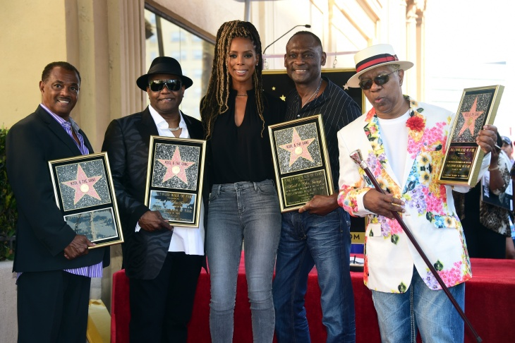 Kool & The Gang performs at the 13th Annual Race to Erase MS 'Disco Fever' at the Century Plaza Hotel on May 12, 2006 in Los Angeles.