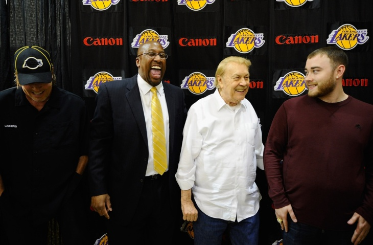 Los Angeles Lakers Introduce Mike Brown